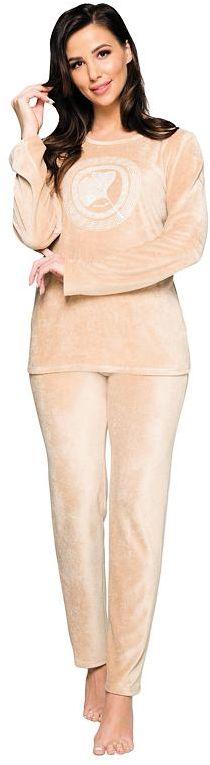 Piżama z miękkiego weluru Sandy w kolorze