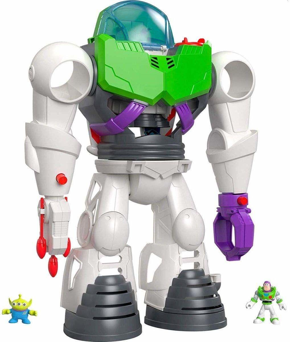 Fisher-Price Imaginext Disney Toy Story Buzz Lightyear Robot Playset z Buzz Lightyear i kosmiczną minifigurki