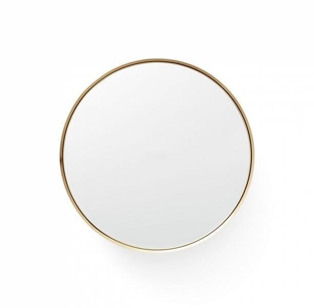 Menu DARKLY Lustro Okrągłe 20 cm Mosiądz - Odcień Złoty