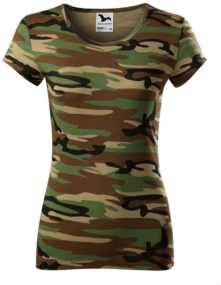 T-shirt damski Camo Pure