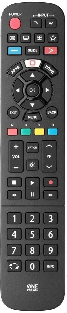 Pilot uniwersalny One For All URC4914 do telewizorów Panasonic