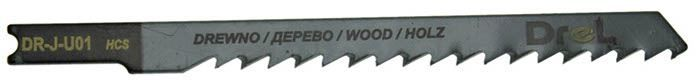 """Brzeszczoty do wyrzynarek z chwytem typu """"U"""",drewno/płyta wiórowa, długość pracy 75mm,5szt"""