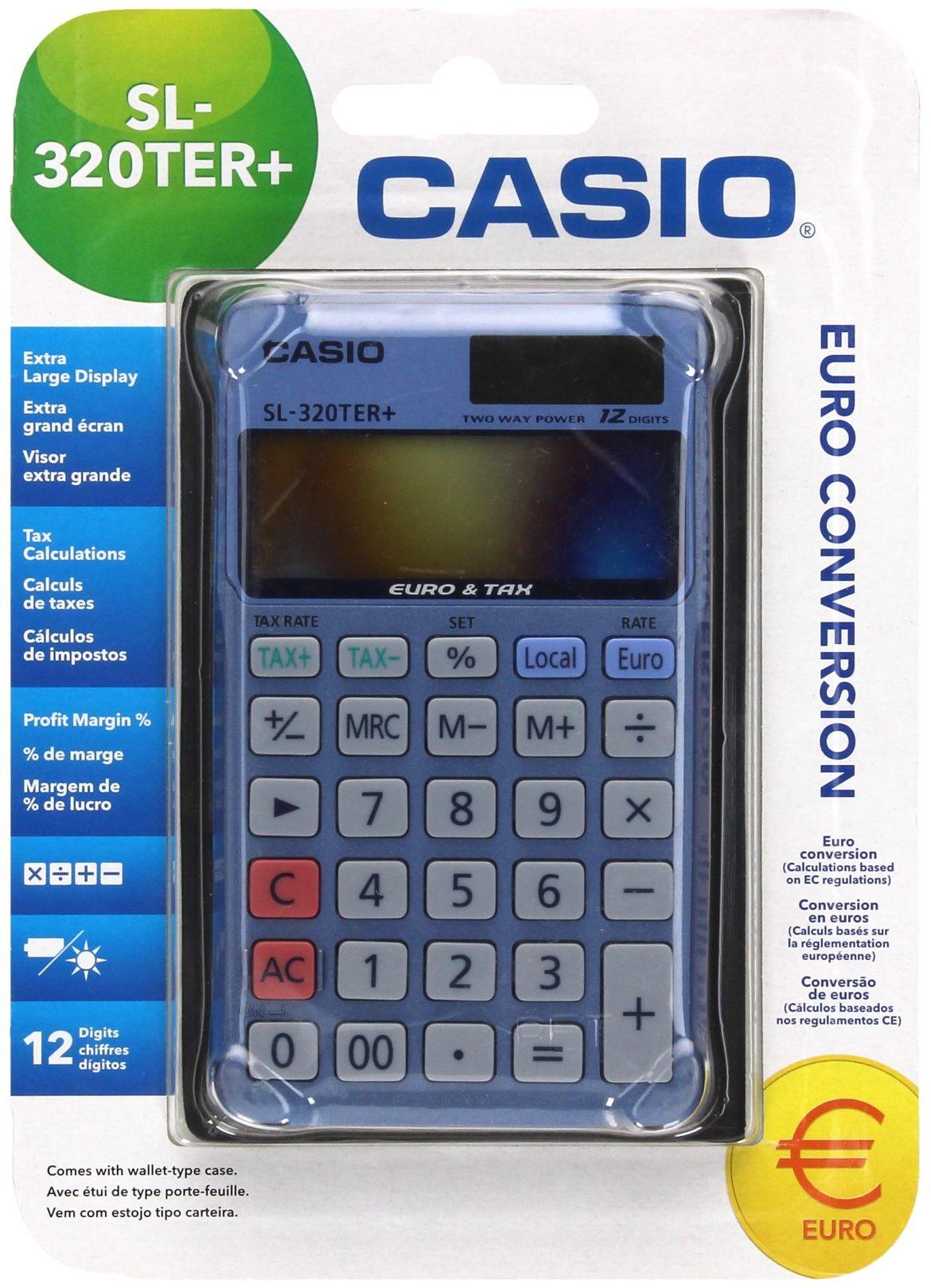 Kalkulator 12 pozycyjny SL320TER Casio