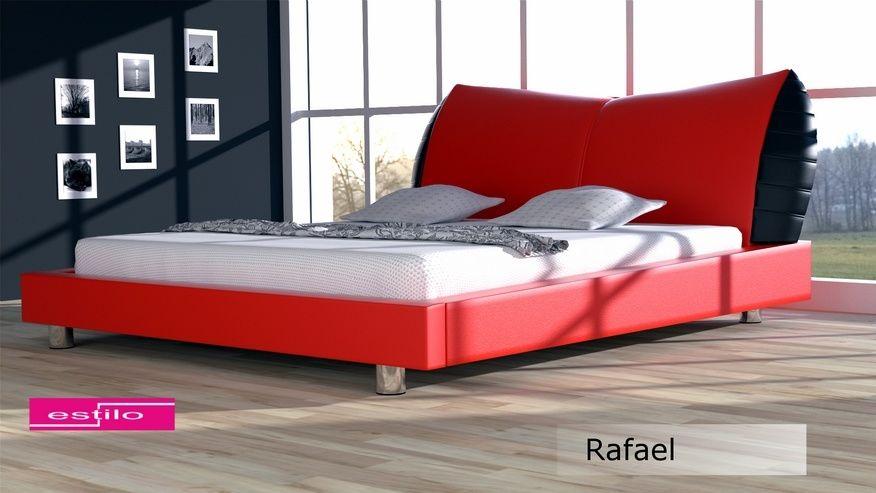 Łóżko tapicerowane Rafael 140x200 - tkanina