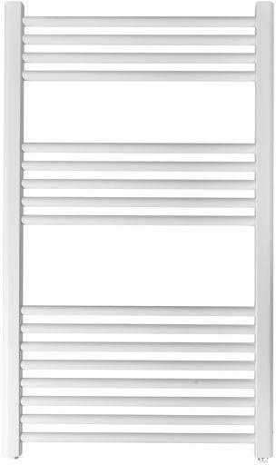 Grzejnik łazienkowy york - wykończenie proste, 600x1000, biały/ral