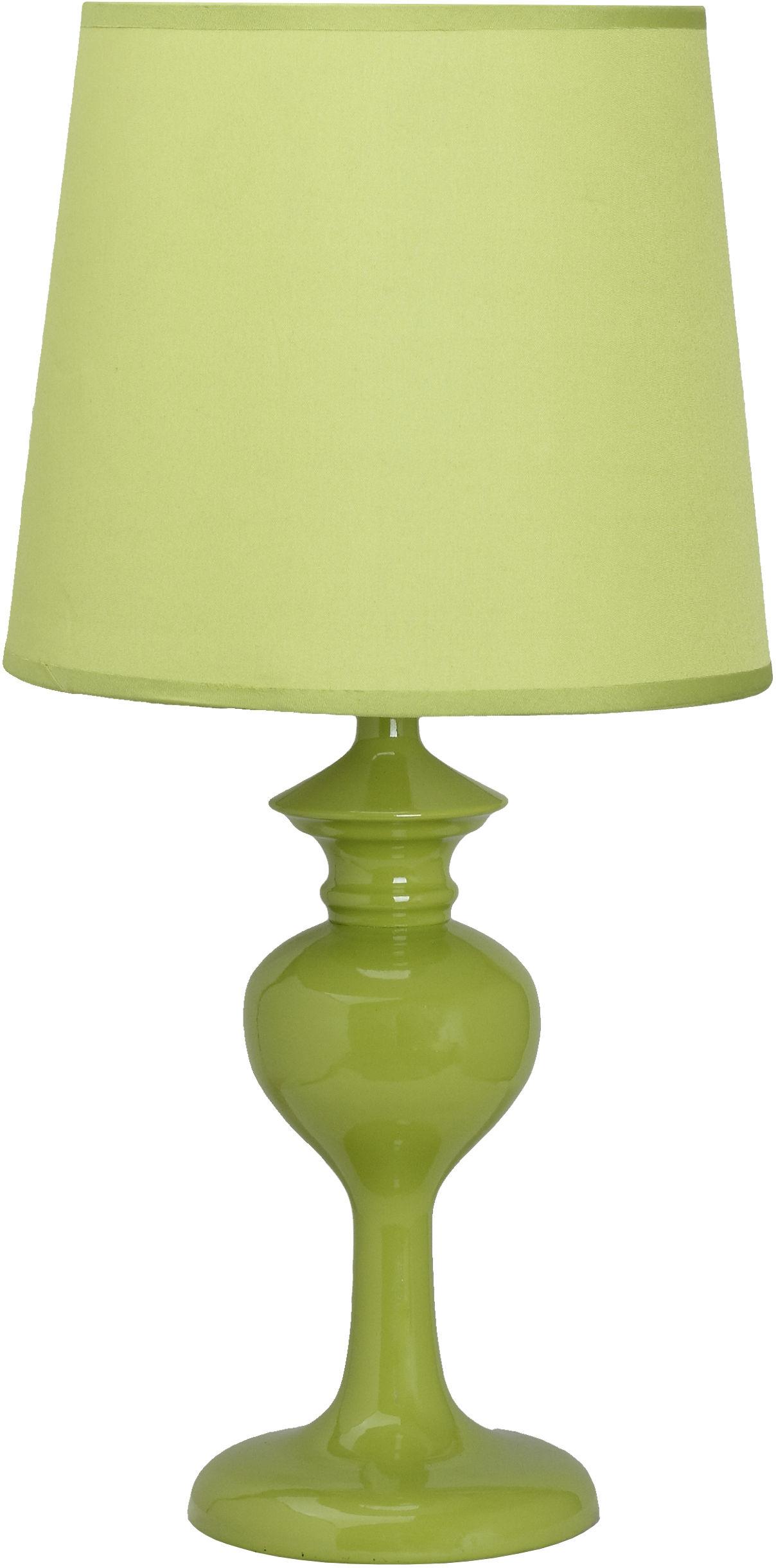 Candellux BERKANE 41-11725 lampa stołowa zielona abażur 1X40W E14 20 cm
