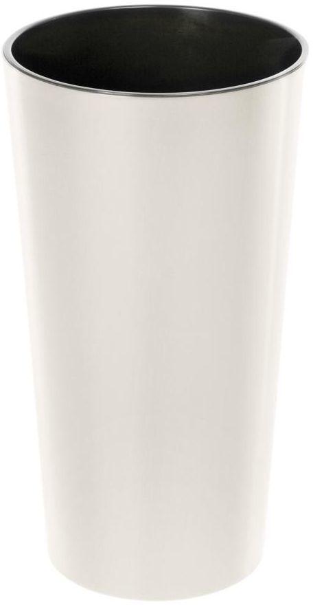 Doniczka plastikowa 30 cm kremowa LILIA