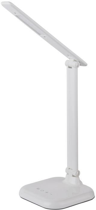 Globo DAVOS 58209W lampa stołowa biała ściemniacz LED 7W 4000-6000K 56,5cm