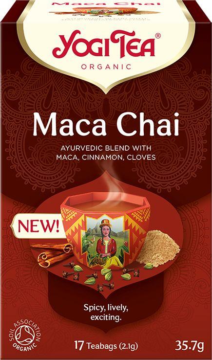 Herbatka Maca Chai BIO 36g - Yogi Tea