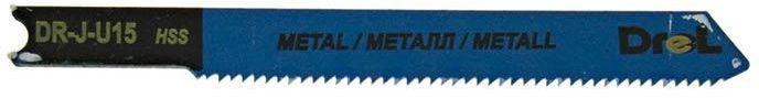 """Brzeszczoty do wyrzynarek z chwytem typu """"U"""",metal/blacha, długość pracy 51mm,5szt"""