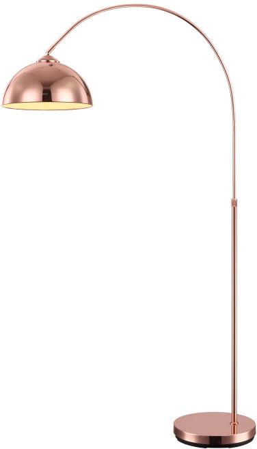 Globo NEWCASTLE 58227C lampa podłogowa miedziana 1xE27 30cm