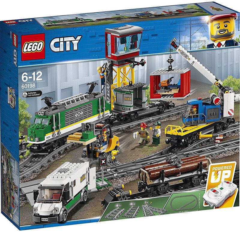 LEGO CITY - Pociąg towarowy 60198