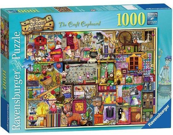 Puzzle Ravensburger 1000 - Colin Thompson Niepowtarzalny kredens, The Craft Cupboard
