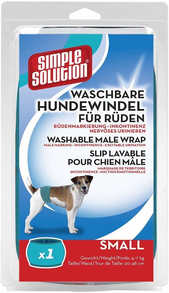 Simple Solution pieluchy dla psów zmywalne dla Rüden S