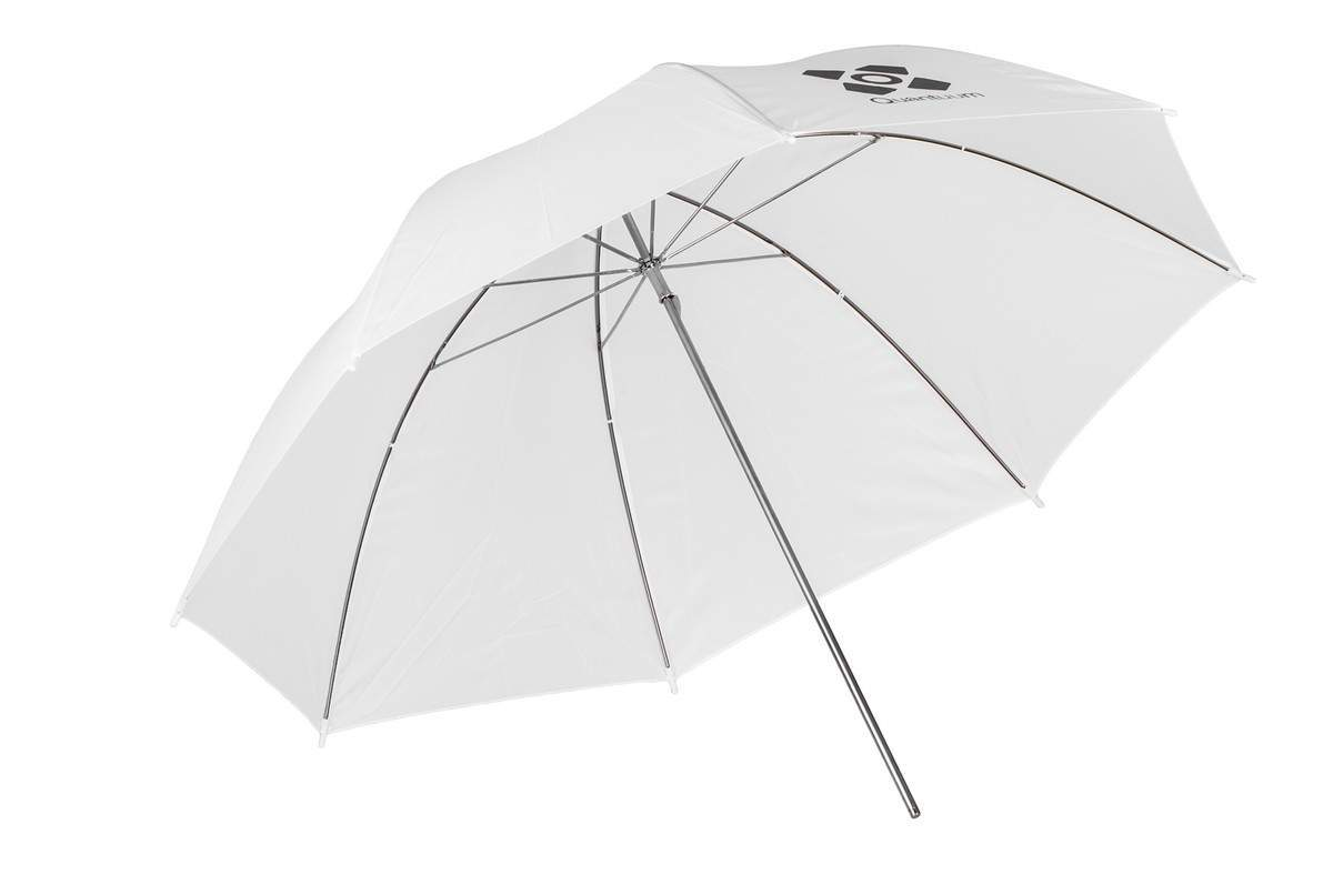 Quadralite Umbrella Transparent - parasolka transparentna 120cm Quadralite Umbrella Transparent 120cm