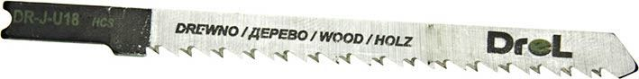 """Brzeszczoty do wyrzynarek z chwytem typu """"U"""",drewno/sklejka, długość pracy 75mm,5szt"""