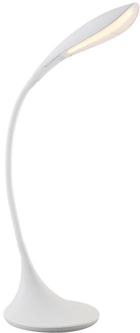 Globo SHANNON 58242 lampa stołowa biała flexo ściemniacz LED 5W 3000K 67cm