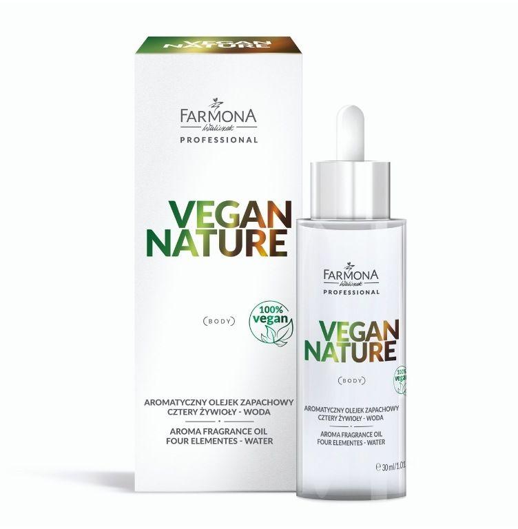 VEGAN NATURE Aromatyczny olejek zapachowy - CZTERY ŻYWIOŁY Woda 30ml