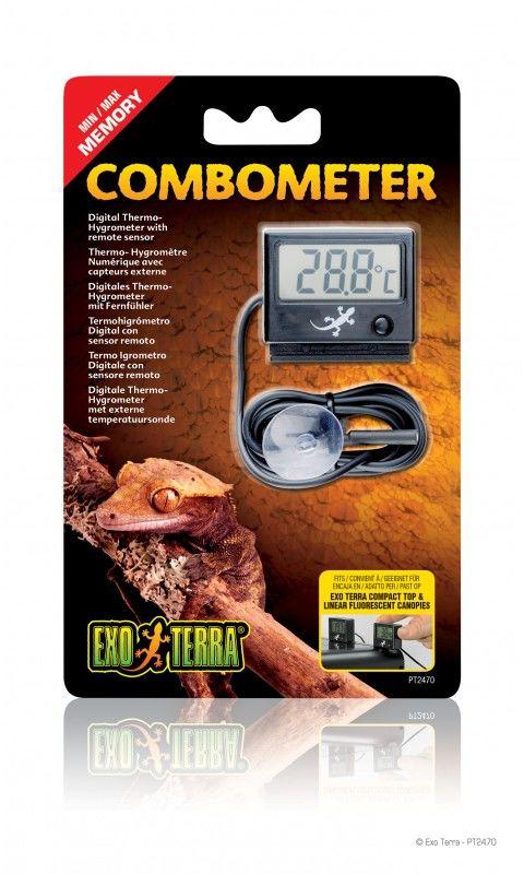 Exo-Terra Higrometr i termometr elektroniczny Combometer