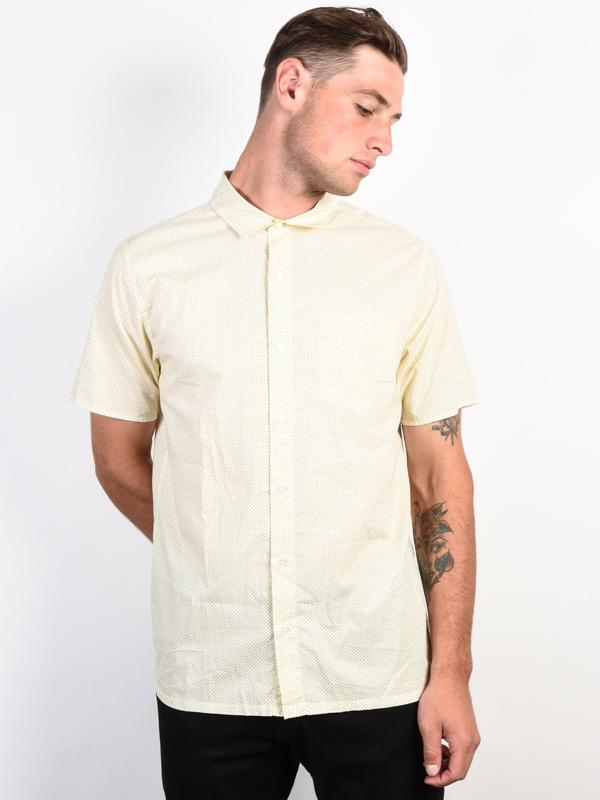 RVCA E DOT ANTIQUE WHITE krótki rękaw koszulka męska - M