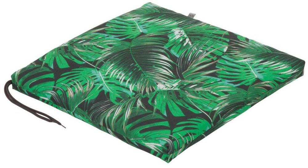 Poduszka na siedzisko 46 x 44 x 4 cm CINO monstera DAJAR
