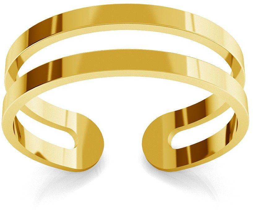 Srebrny pierścionek na początek palca strzałki, srebro 925 : Srebro - kolor pokrycia - Pokrycie platyną