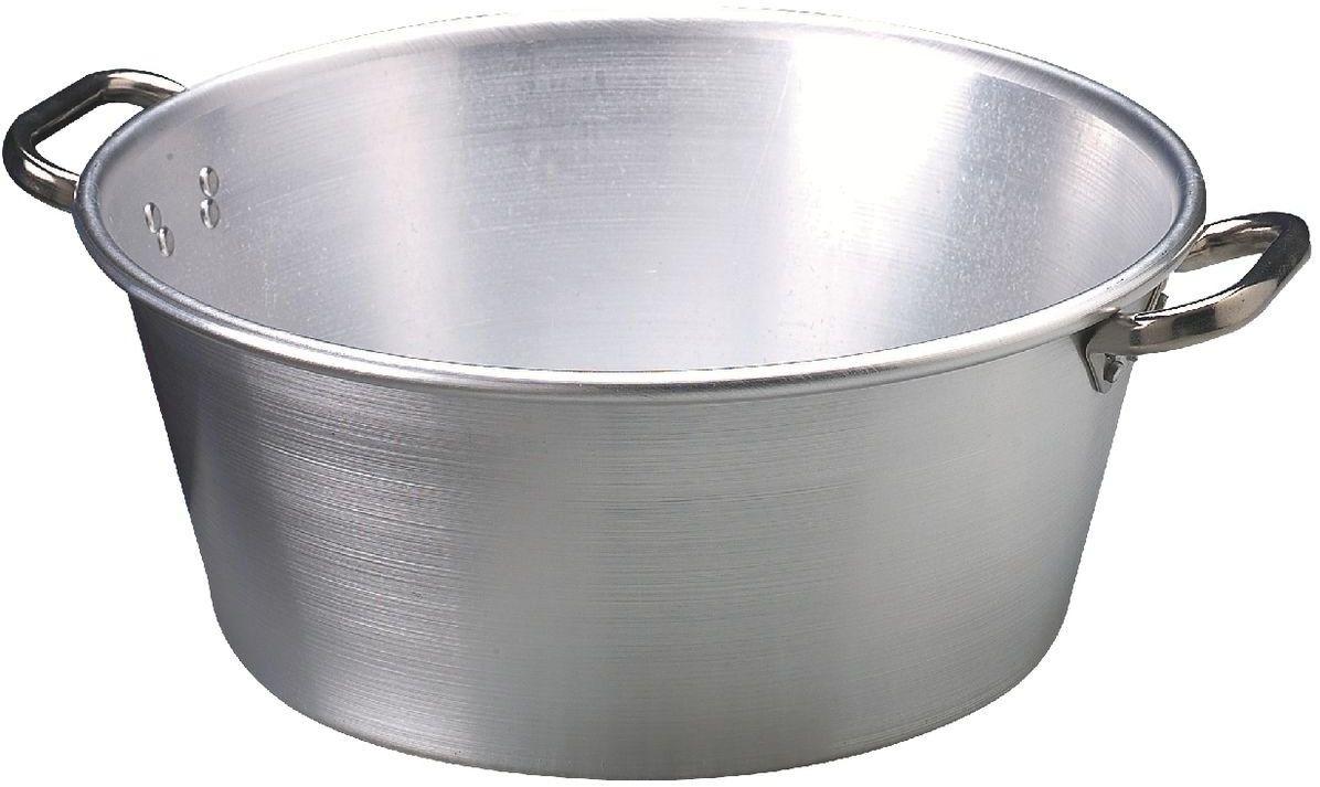 Pentole Agnelli miska aluminiowa do słoików na marmoladę grubość 3 mm 40 cm