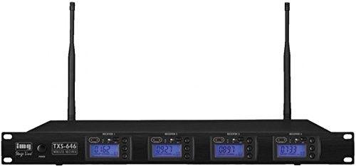 IMG Stage Line TXS-646, bezprzewodowy odbiornik wieloczęstotliwościowy