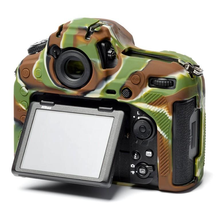 Osłona silikonowa easyCover do aparatu Nikon D850 kamuflaż
