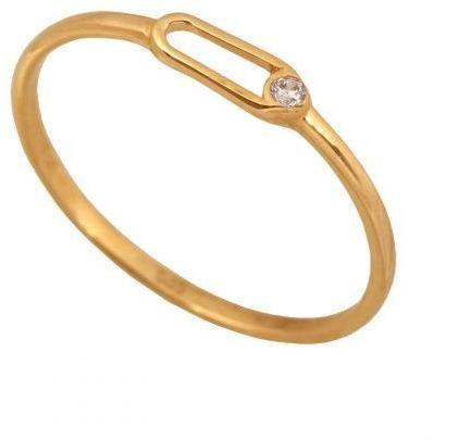 Złoty pierścionek młodzieżowy Pi356