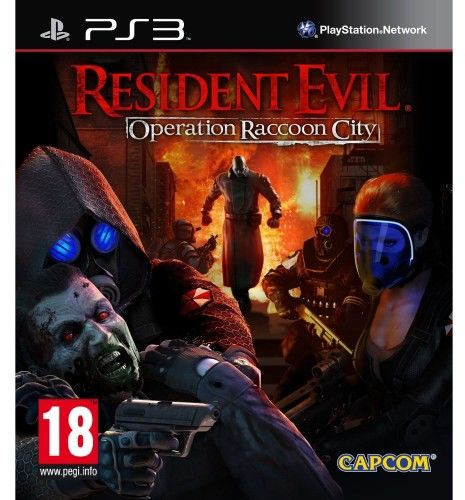 Resident Evil Operation Raccoon PS 3