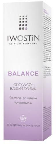 Iwostin Balance balsam odżywczy do rąk 40 ml