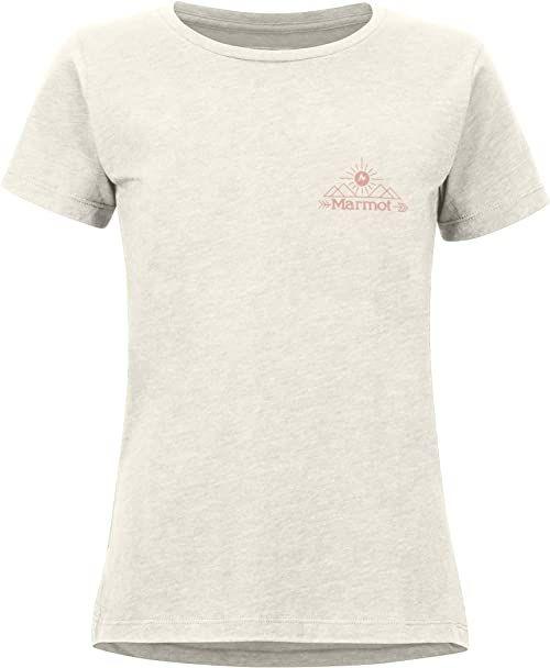 Marmot Damska koszulka Arrow T-shirt damski szary Turtledove Heather L