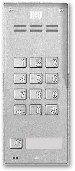 Domofon cyfrowy z zamkiem szyfrowym i 1 przyciskiem FAM-P-1NPZS