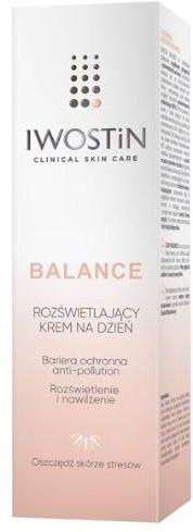Iwostin Balance rozświetlający krem na dzień 50 ml