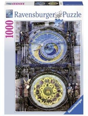 Puzzle Ravensburger 1000 - Zegar słoneczny, Sundial