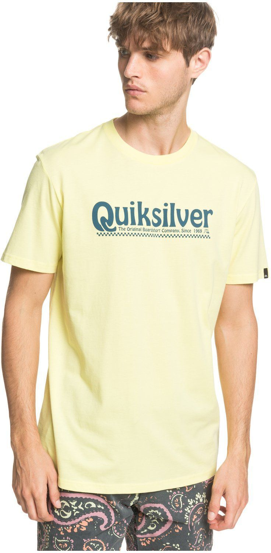 t-shirt męski QUIKSILVER NEW SLANG TEE Charlock - GCA0