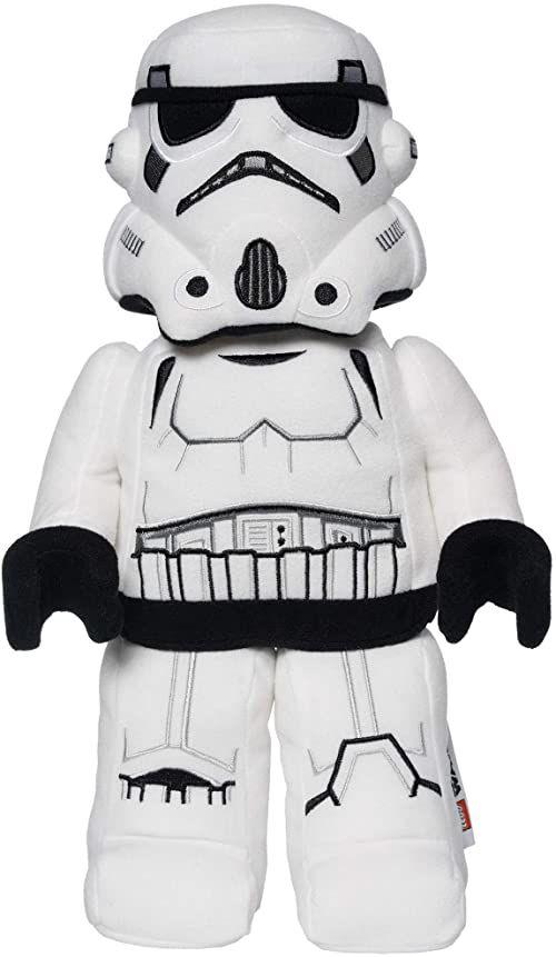 Manhattan Toy 33340 Lego Star Wars Stormtrooper 33,02 cm pluszowa postać, wielokolorowa