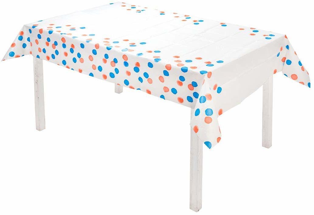 Talking Tables Jednorazowy papier świętuj VE Dzień 180 cm x 120 cm, brytyjski obrus na stół