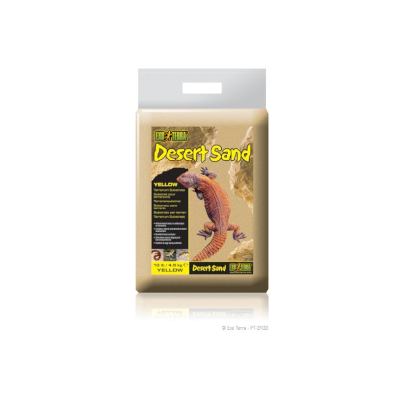 Exo-Terra Podłoże Desert Sand 4,5kg - żółte (PT3103)