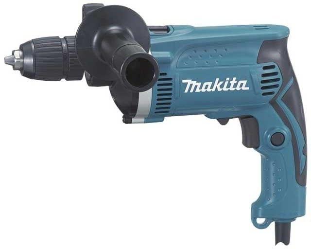 elektryczna jednobiegowa wiertarka udarowa 710W Makita [HP1631K]