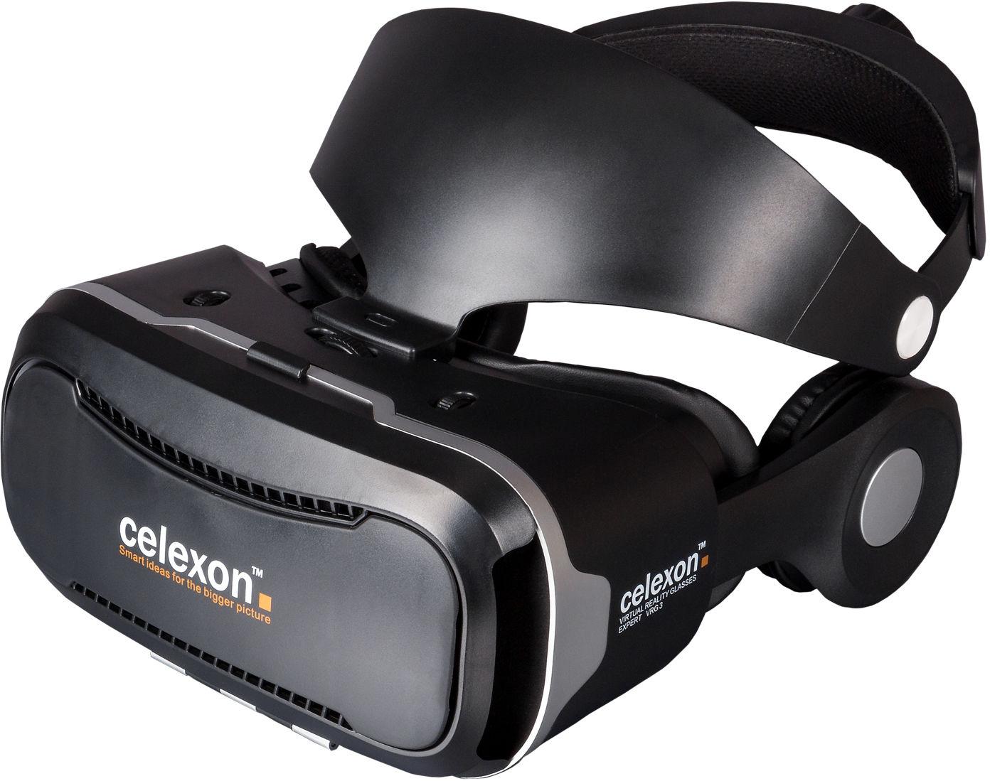 celexon VR Brille Expert - 3D Virtual Reality Brille VRG Plus