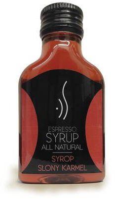 Słony karmel Espresso Syrop 100 ml