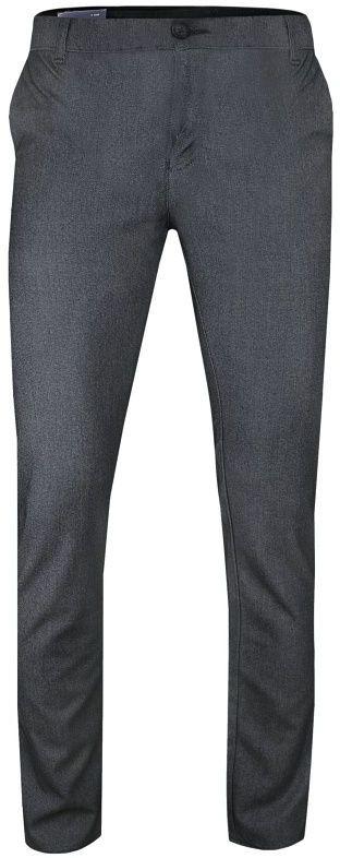 Szaro-Granatowe Casualowe Męskie Spodnie -Tomy Walker- Zwężane, Chinosy SPTWKR1631922siyah