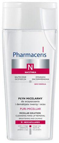 Pharmaceris, N Puri-Micellar, Płyn micelarny do oczyszczania i demakijażu twarzy i oczu, 200 ml