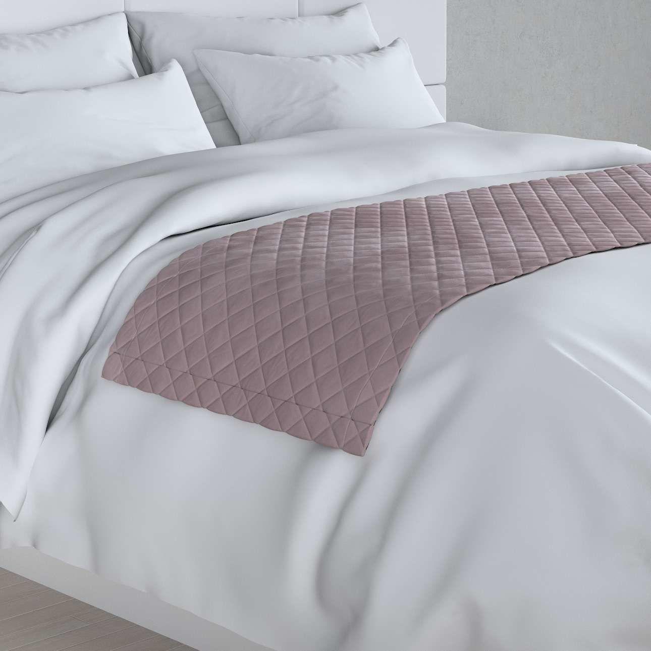 Narzuta hotelowa bieżnik Velvet 60x200cm, zgaszony róż, 60 x 200 cm, Velvet