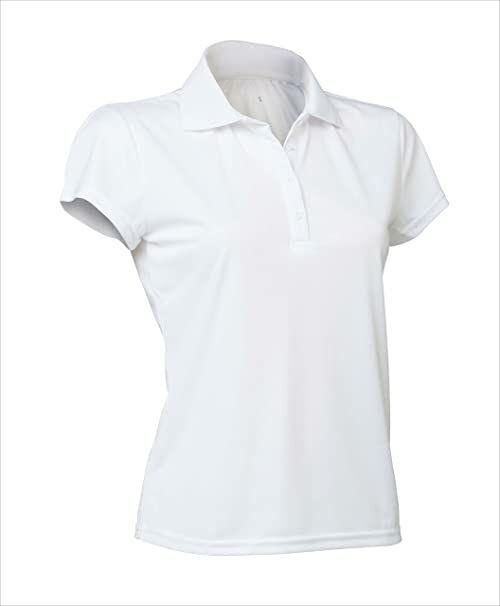 Asioka 102/14 damska koszulka polo z krótkim rękawem, kobiety, koszulka, 102/14 BLANCO L, biała, L