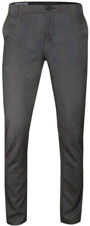 Popielato-Brązowe Casualowe Męskie Spodnie -Tomy Walker- Zwężane, Chinosy SPTWKR1631922kahve