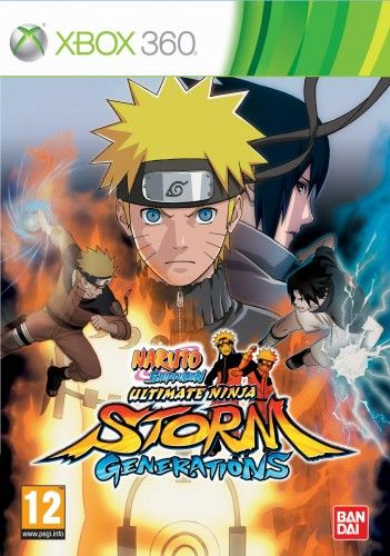Naruto Shippuden Storm Generations X360