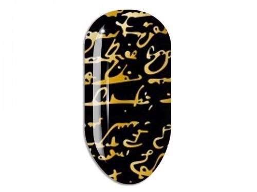 Nail Art Stikers Mollon Pro F022G naklejki do zdobienia